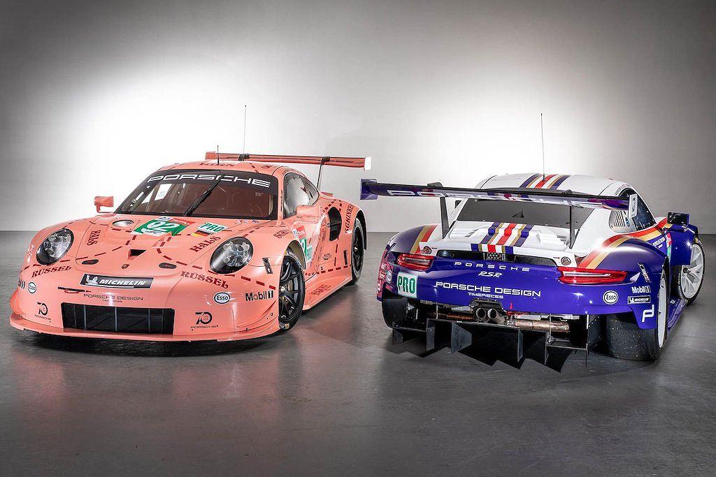 Chiêm ngưỡng cặp xe đua Porsche 911 RSR với tem đấu hoài cổ
